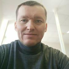 Henkilön Evgeniy käyttäjäprofiili