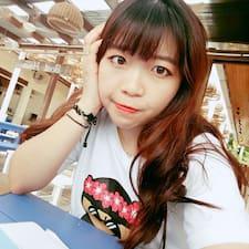 Yujin felhasználói profilja