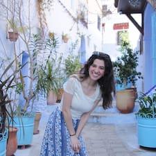 Henkilön María José käyttäjäprofiili