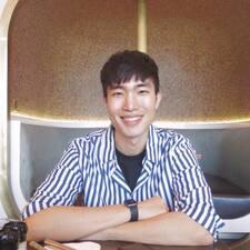Jiwoong felhasználói profilja