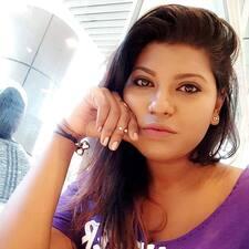 Alisha felhasználói profilja