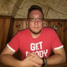 Volodymyr felhasználói profilja