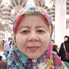 Henkilön Sharifah Salmah käyttäjäprofiili