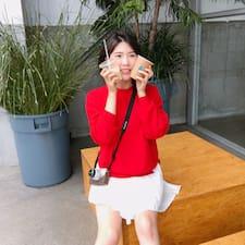 Ahrong felhasználói profilja