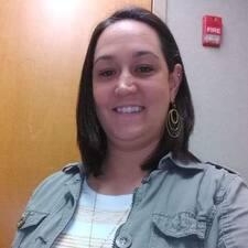 Elaine felhasználói profilja