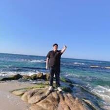 Namhon felhasználói profilja