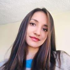 Estefania felhasználói profilja