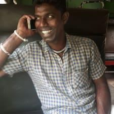 Manju felhasználói profilja