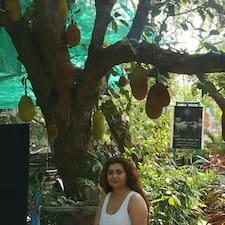Sangeeta felhasználói profilja