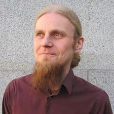 Tuomas felhasználói profilja