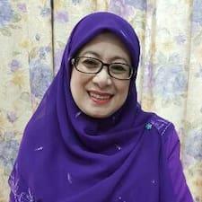 Gebruikersprofiel Shariffah Faridah