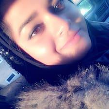Aysha felhasználói profilja