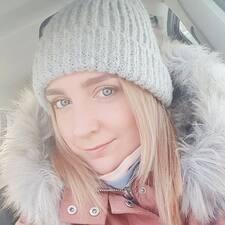 Анна felhasználói profilja