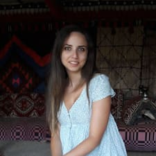 Sabine felhasználói profilja