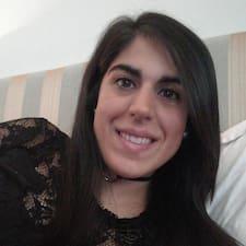 Eva María felhasználói profilja
