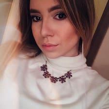 Profil utilisateur de Ксюша