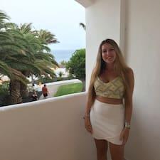 Giulia felhasználói profilja