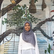 Perfil do utilizador de Aisyah