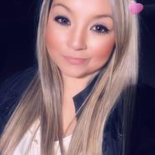 Lizza felhasználói profilja