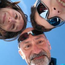 Användarprofil för Christophe, Sabine & Adrien