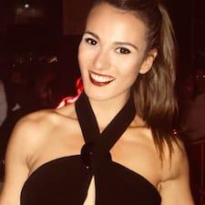 Arianna felhasználói profilja