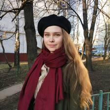 Daria felhasználói profilja