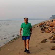 Henkilön Wang käyttäjäprofiili