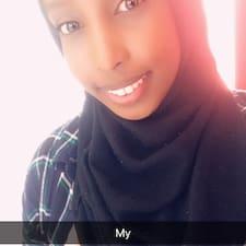 Sahra felhasználói profilja