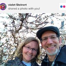 Violet felhasználói profilja