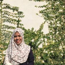 Zahirah User Profile