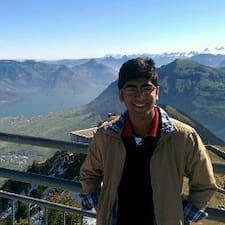 Daksh felhasználói profilja