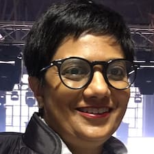 Användarprofil för Reshma