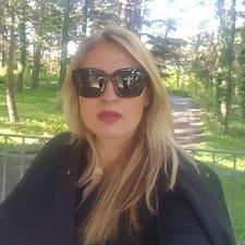 Nia - Uživatelský profil