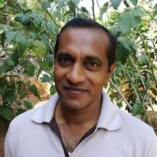 Profil utilisateur de Vasantha