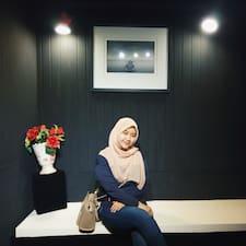 Shahirah User Profile