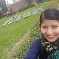 Gabriela felhasználói profilja