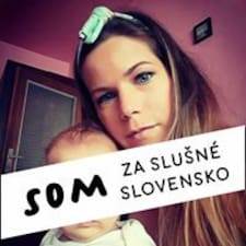 Perfil do utilizador de Slávka