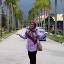 Nur Syuhadaa felhasználói profilja
