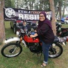 Halimatu Sa'Adiah felhasználói profilja