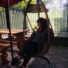 Aidana felhasználói profilja