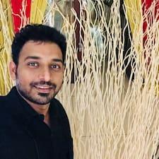 Perfil do usuário de Aditya