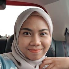 Profilo utente di Aishah
