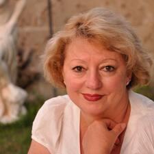 Henkilön Evelyne käyttäjäprofiili