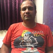 Perfil do utilizador de Rajesh