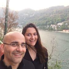 Saumya & Gaurav User Profile