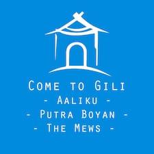 Come To Gili User Profile