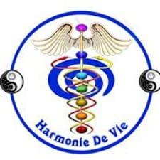 Henkilön Harmonie käyttäjäprofiili