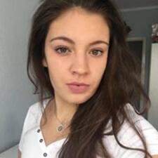 Kasia felhasználói profilja