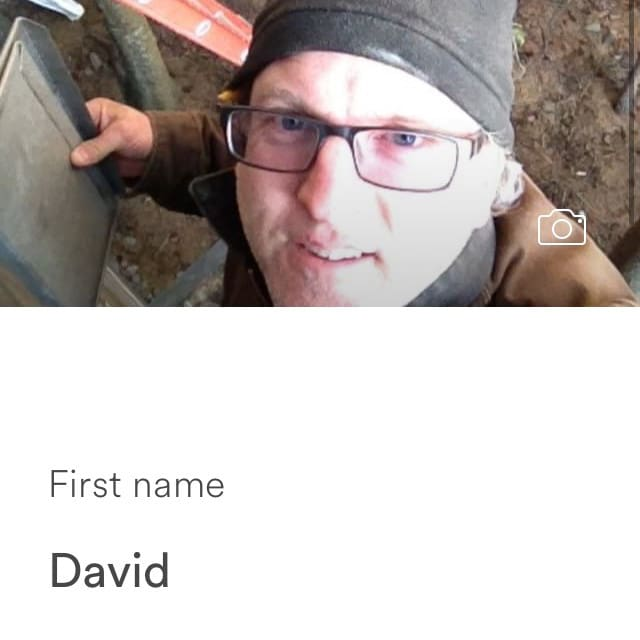 الملف الشخصي لDavid