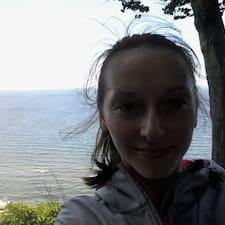 Iwona felhasználói profilja